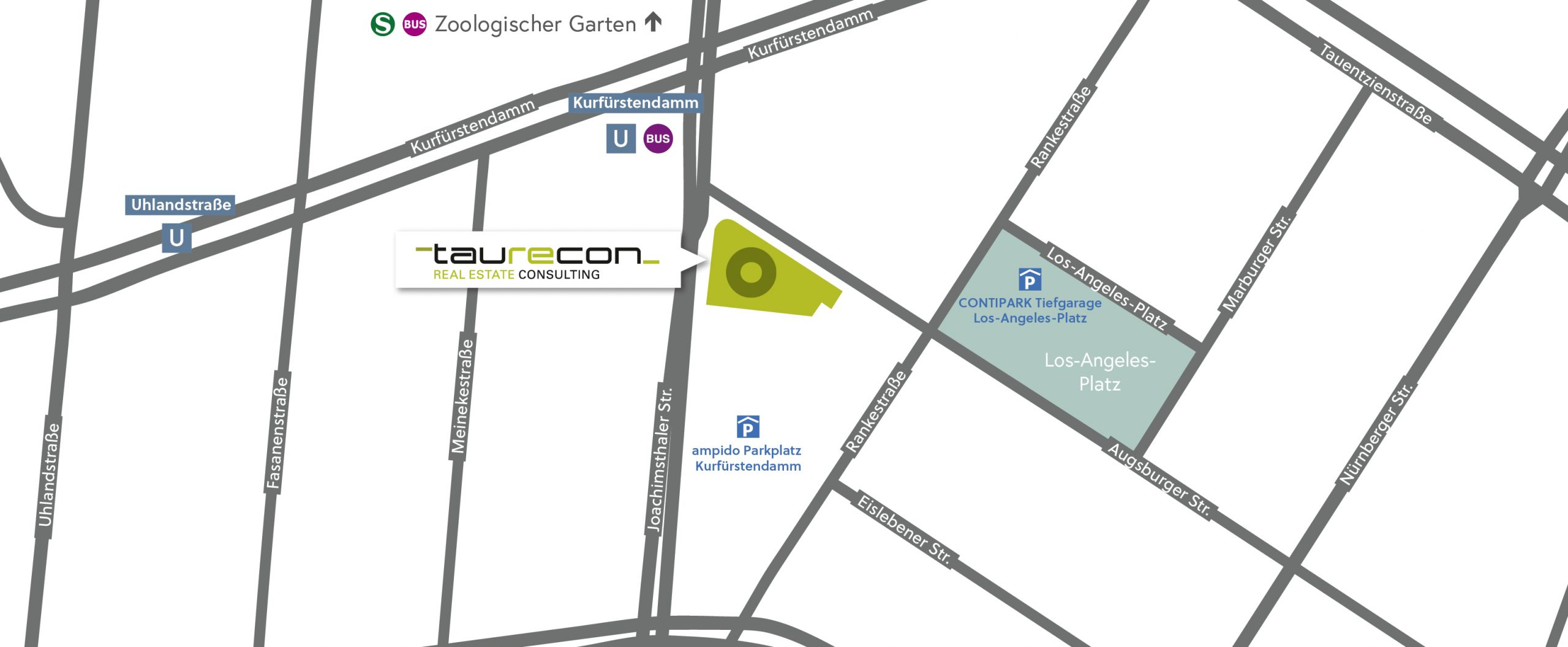 Taurecon Directions Map
